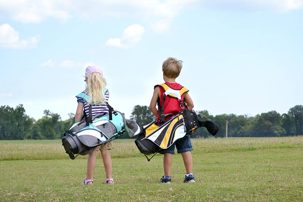 4 Healthy Reasons to Put Your Kids in Golf